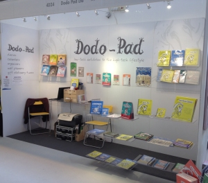 The Dodo Pad stand at the Autumn Fair