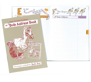 Slimline Dodo Address Book