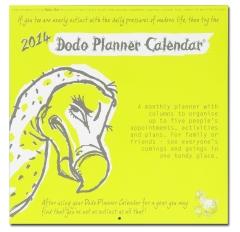 2014 Dodo Planner Calendar