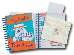 Dodo Travel Log - the essential travel journal