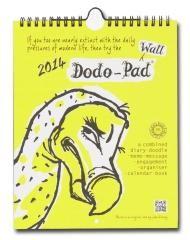 2014 Dodo Wall Pad Calendar