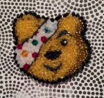 Pudsey Brooch - front