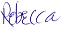 Rebecca - email sig -small 450