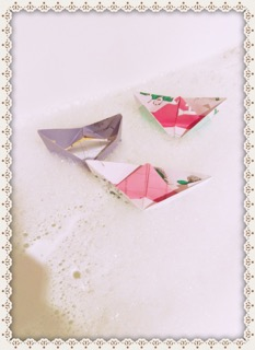 2. Paper boats