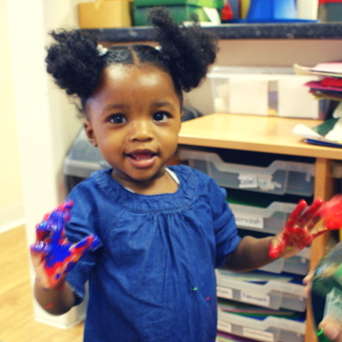 A happy face - from the Grenfell Nursery website :)